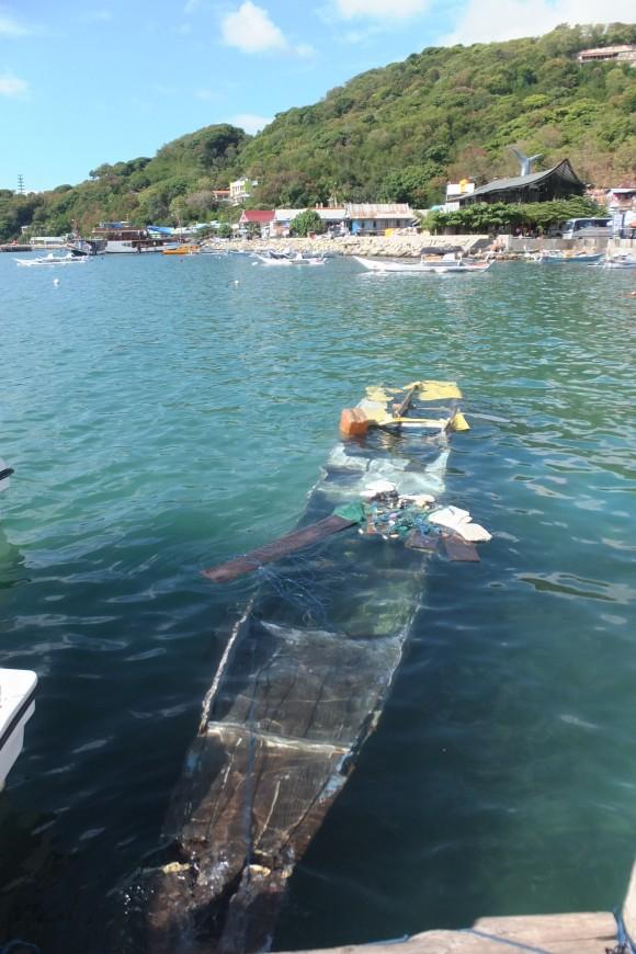 On espère que notre bateau demain sera en meilleure forme que celui-ci