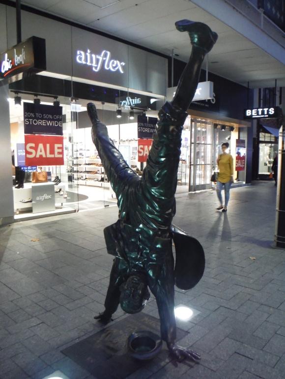 Dans les rues de Perth