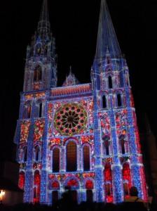 La façade principale de la cathédrale