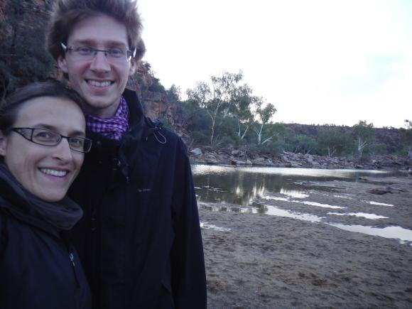 Au bord de la rivière au Ross Graham Lookout