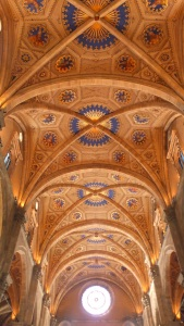 Superbes plafonds de la cathédrale