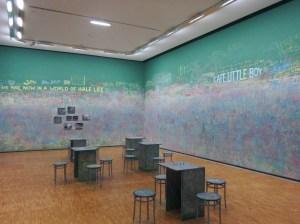 Café Little Boy de Jean-Luc Vilmouth, une oeuvre d'art participative