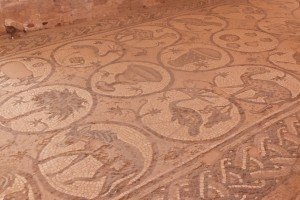 Mosaïques dans la chapelle byzantine