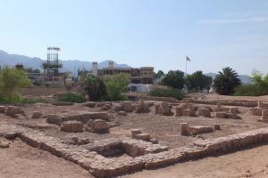 Les ruines d'Ayla