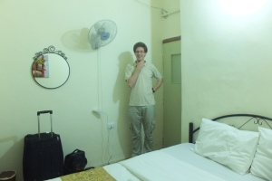 Notre chambre pour les 3 nuits à venir