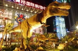 On a même croisé un T-Rex à Xian !