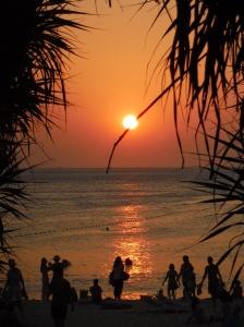 Coucher de soleil à Kata Beach