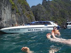 Snorkelling à Maya Bay