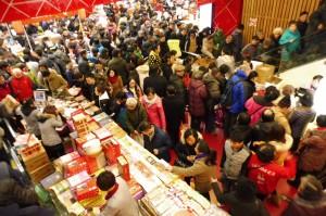 Le First Food Mall le dernier WE avant le Nouvel An chinois, une fausse bonne idée ?