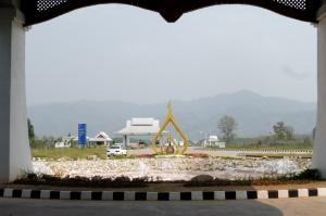No man's land entre Thaïlande et Laos