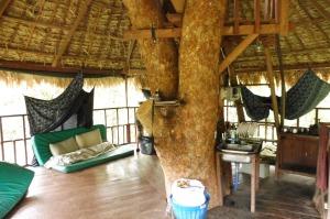 La pièce principale de notre cabane