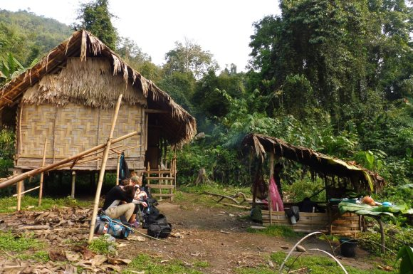 Pause petit-déj au Jungle Camp