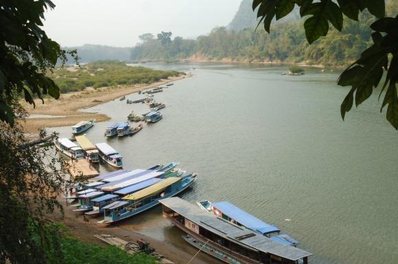 ... avec une jolie vue sur la rivière