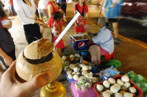 et pour le dessert, retour en Asie avec une coconut
