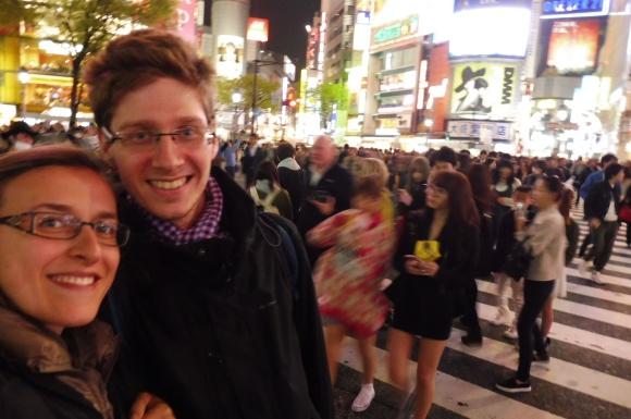 Sur le carrefour de Shibuya !