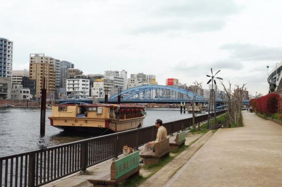 Balade le long de la rivière Sumida