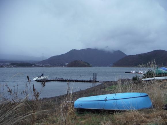 Sur les bords du lac Kawaguchiko