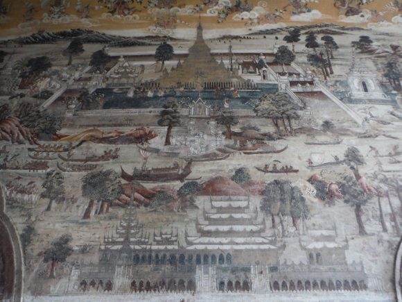 Les fresques de la pagode Kyauk Taw Gyi