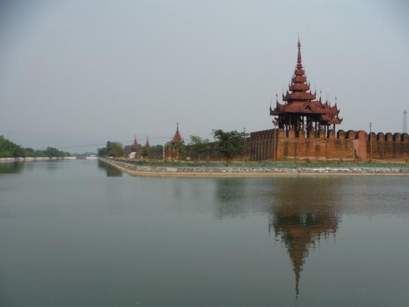 Les douves du palais royal