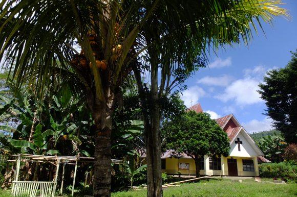 L'église de Moni