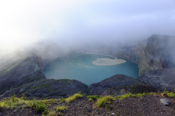 Le lac turquoise
