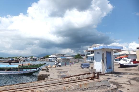 Le port de Maumere