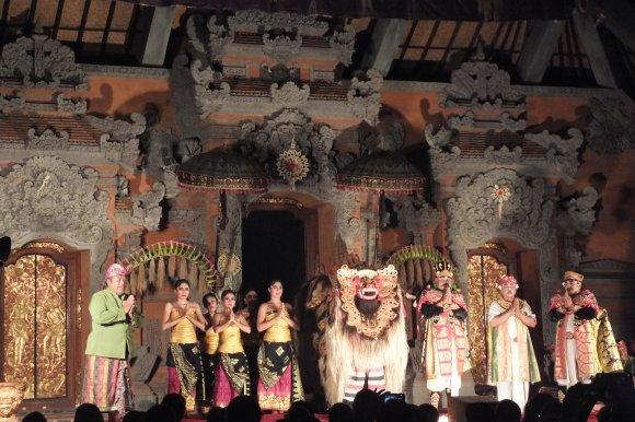 Ubud est aussi le paradis des danses balinaises