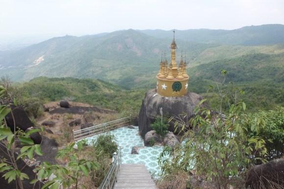 Depuis la pagode la vue est superbe