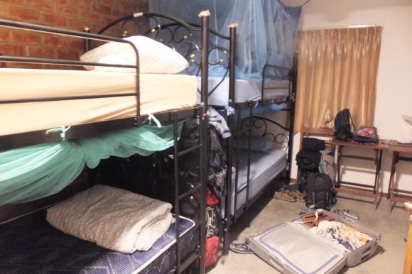 Les dortoirs ne nous avaient pas manqué !