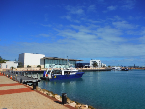 La marina de Geraldton
