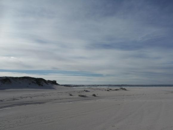 ... et sa plage de sable blanc et fin !