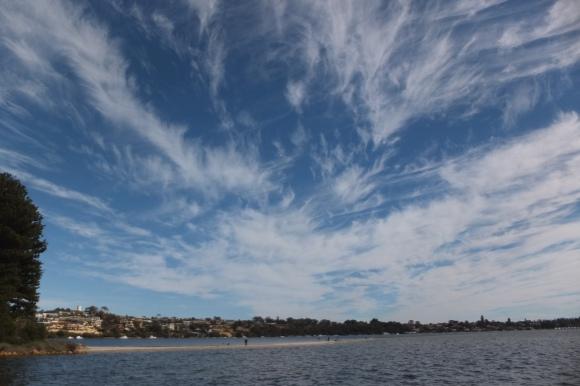 Les superbes ciels de Perth, ici à Point Walter Jetty sur la route vers Fremantle