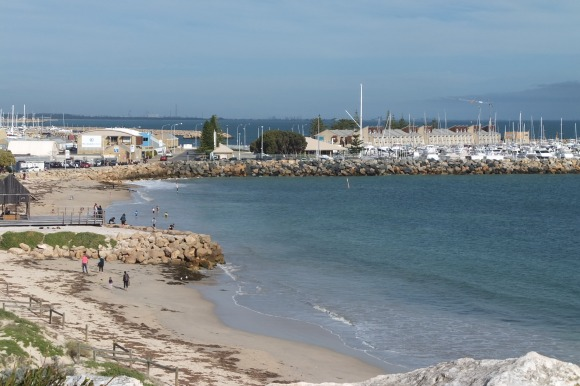 Plage et port de Fremantle