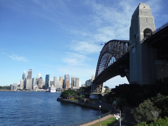 Harbour Bridge vu depuis Milson Point