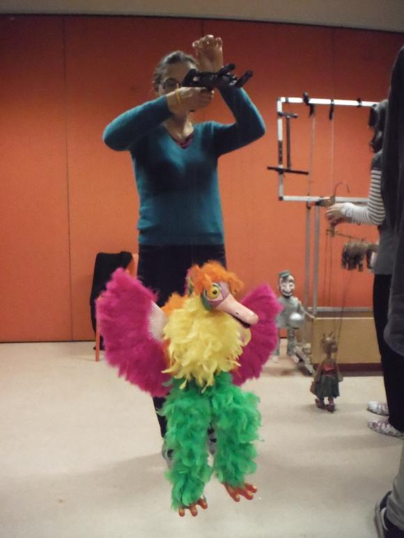Soirée marionnettes au musée d'art conemporain
