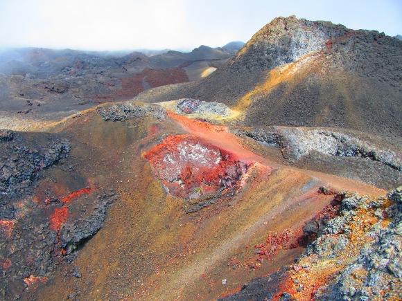Du côté des volcans chicos (photo filtrée, j'avoue !)