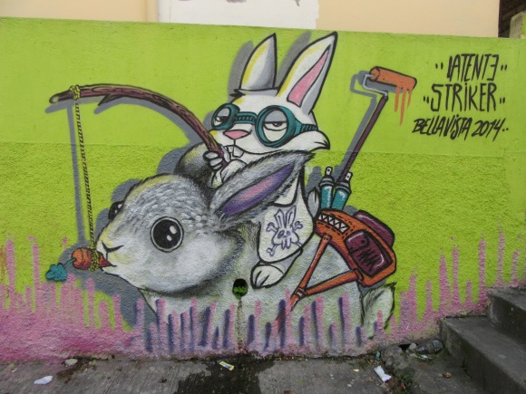 Les fresques murales du quartier de Bellavista