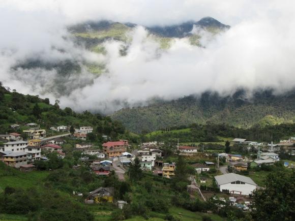 Le village de Papallacta