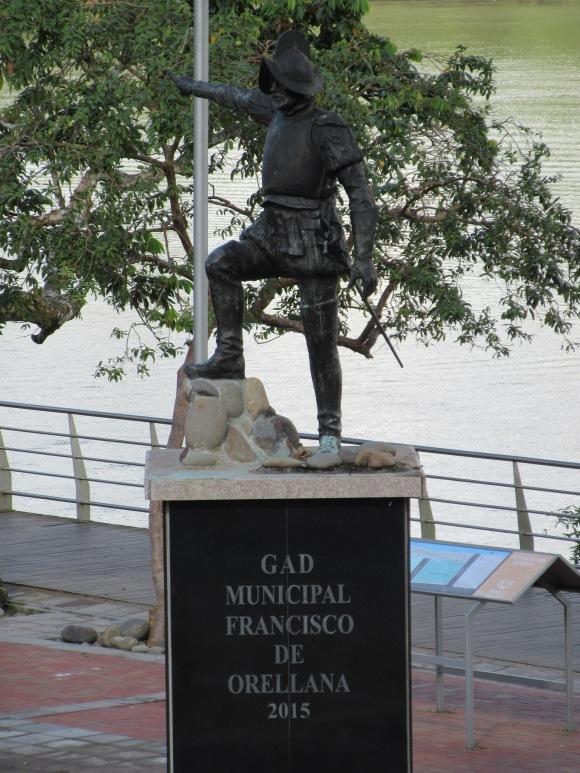 """Francisco de Orellana, """"découvreur de l'Amazone"""" (ce type de phrase me laisse toujours assez circonspecte... l'Amazone avait été découvert bien avant par les populations locales !)"""
