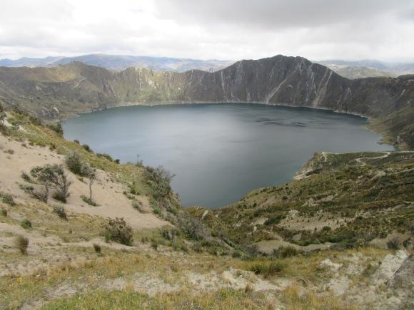 La lagune de Quilotoa, toujours aussi majestueuse