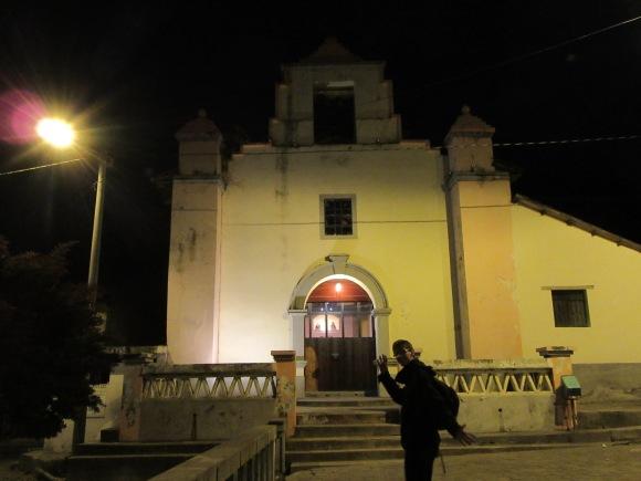 Eglise de Chugchilan, victoire on y est presque !