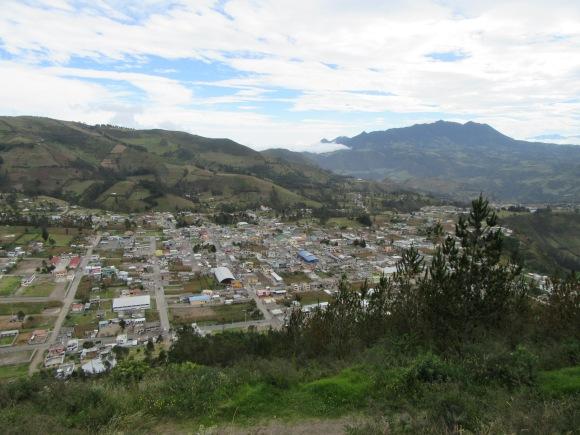 ... et vue sur la vallée...