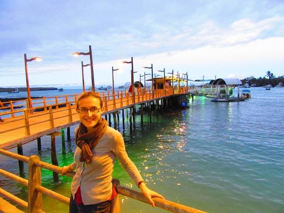 Sur le port