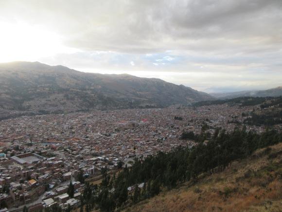 Vue sur Huaraz