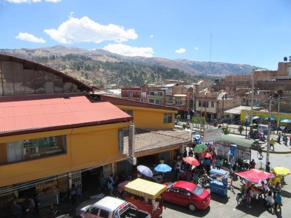 Le marché de Huaraz