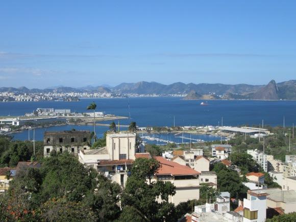 Vue panoramique depuis le parque das Ruinas