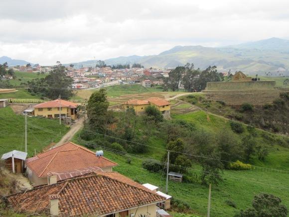 Balade dans la campagne et vue sur Ingapirca