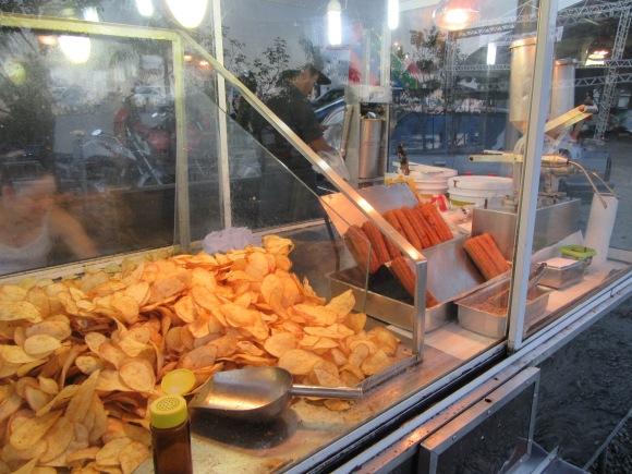 Ah, et on a aussi testé les chips !