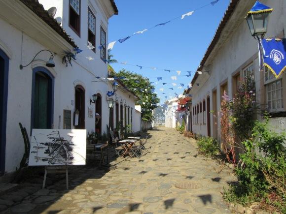 Le charme des petites rues de Paraty
