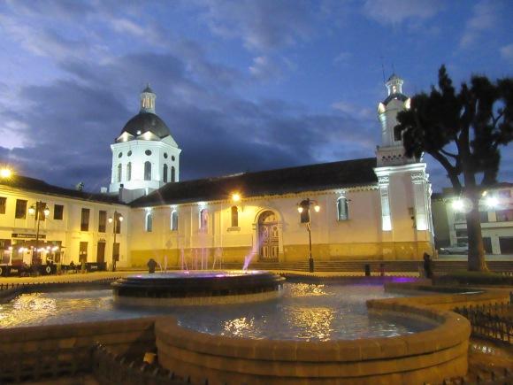 Place et église San Sebastian